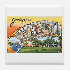 Augusta Georgia GA Tile Coaster