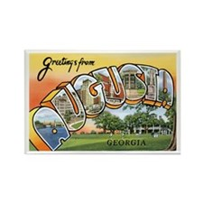 Augusta Georgia GA Rectangle Magnet