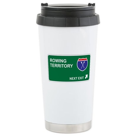 Rowing Territory Stainless Steel Travel Mug