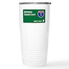 Rowing Territory Travel Coffee Mug