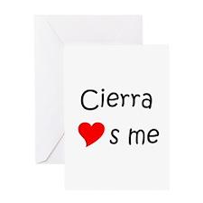Funny Cierra Greeting Card