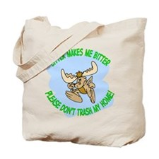 Bitter Litter Moose Tote Bag