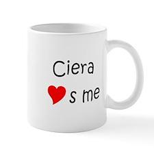 Unique Ciera Mug
