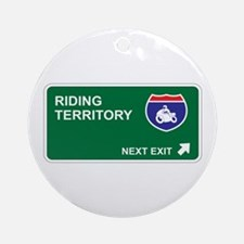 Riding Territory Ornament (Round)