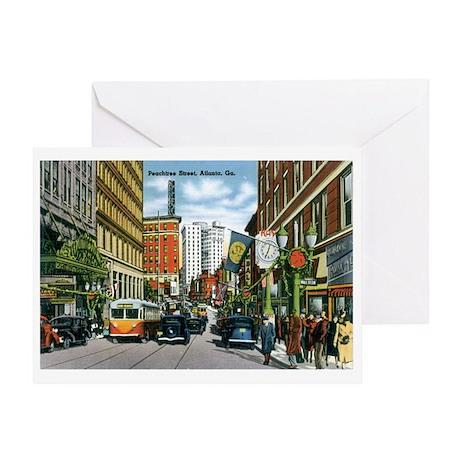 Atlanta Georgia GA Greeting Card