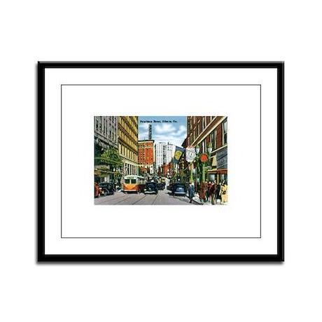 Atlanta Georgia GA Framed Panel Print