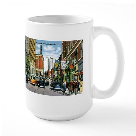 Atlanta Georgia GA Large Mug