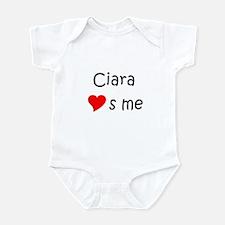 Unique Ciara Infant Bodysuit
