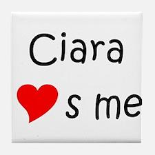 Unique Ciara Tile Coaster