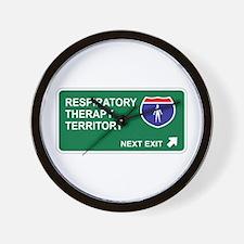 Respiratory, Therapy Territory Wall Clock