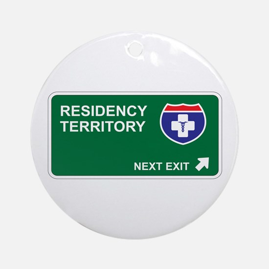 Residency Territory Ornament (Round)