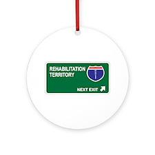Rehabilitation Territory Ornament (Round)