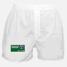 Radiology Territory Boxer Shorts