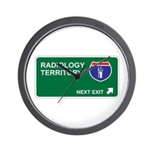 Radiology Territory Wall Clock