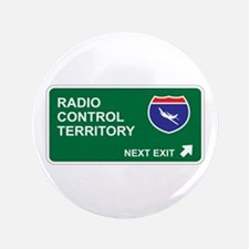 """Radio, Control Territory 3.5"""" Button (100 pack)"""