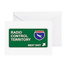 Radio, Control Territory Greeting Card