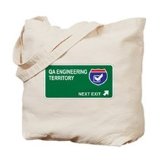 QA Engineering Territory Tote Bag