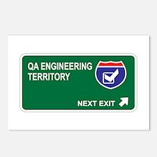 QA Engineering Territory Postcards (Package of 8)