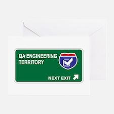 QA Engineering Territory Greeting Card