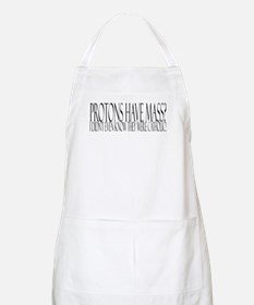 Protons have mass? BBQ Apron