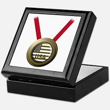 USA GOLD Keepsake Box
