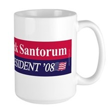 """Rick Santorum for President"" Mug"