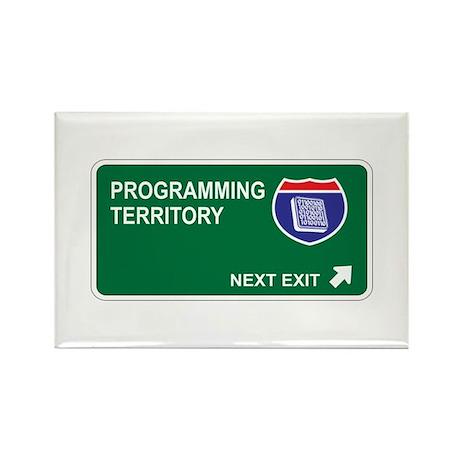 Programming Territory Rectangle Magnet (10 pack)