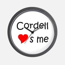 Cool Cordell Wall Clock