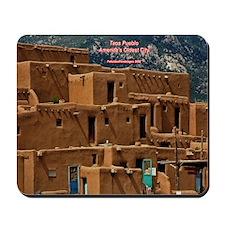 Taos Pueblo Mousepad