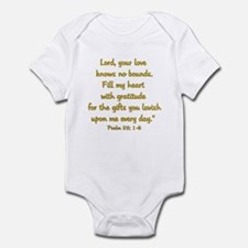 gratitude psalm Body Suit