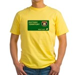 Pottery Territory Yellow T-Shirt