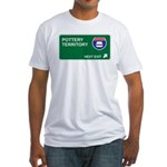 Pottery Territory Fitted T-Shirt