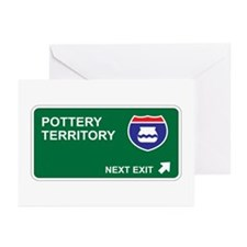 Pottery Territory Greeting Cards (Pk of 20)
