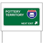 Pottery Territory Yard Sign