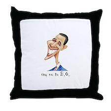 Cute Obama sayings Throw Pillow
