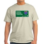 Postal, Service Territory Light T-Shirt