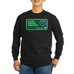 Postal, Service Territory Long Sleeve Dark T-Shirt