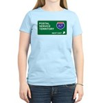 Postal, Service Territory Women's Light T-Shirt