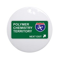 Polymer, Chemistry Territory Ornament (Round)