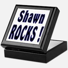 Shawn Rocks ! Keepsake Box