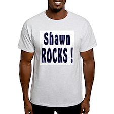 Shawn Rocks ! Ash Grey T-Shirt