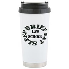 Brief Eat Sleep Travel Mug