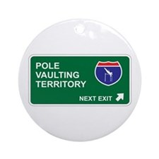 Pole, Vaulting Territory Ornament (Round)