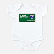 Poetry Territory Infant Bodysuit