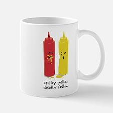 Red By Yellow Mug