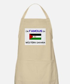 I'd Famous In WESTERN SAHARA BBQ Apron