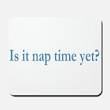 Nap Time Mousepad