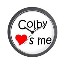 Me to you heart to heart Wall Clock