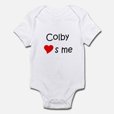 Cute Colby Infant Bodysuit