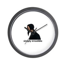 Cute Perseverance Wall Clock